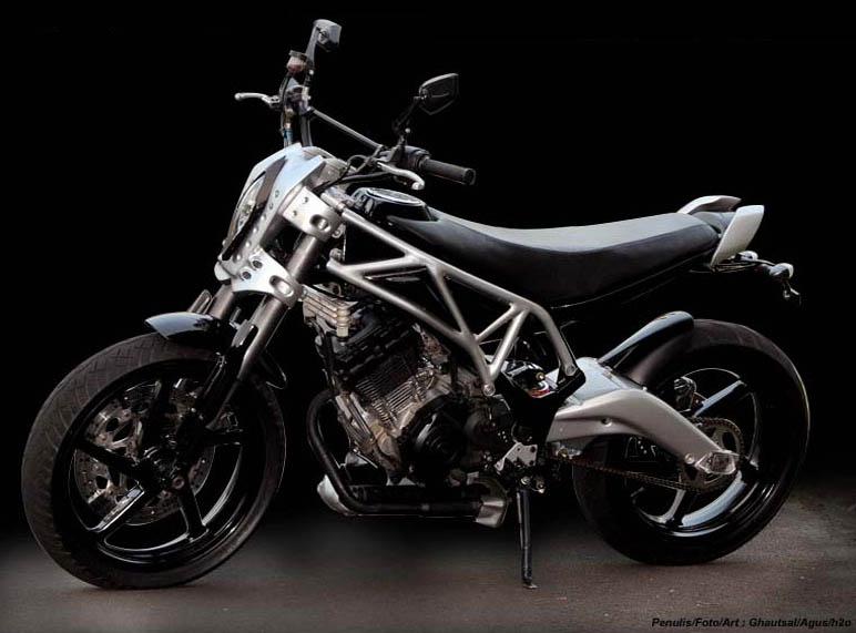 Motorcycle Trade: Modification Suzuki Satria