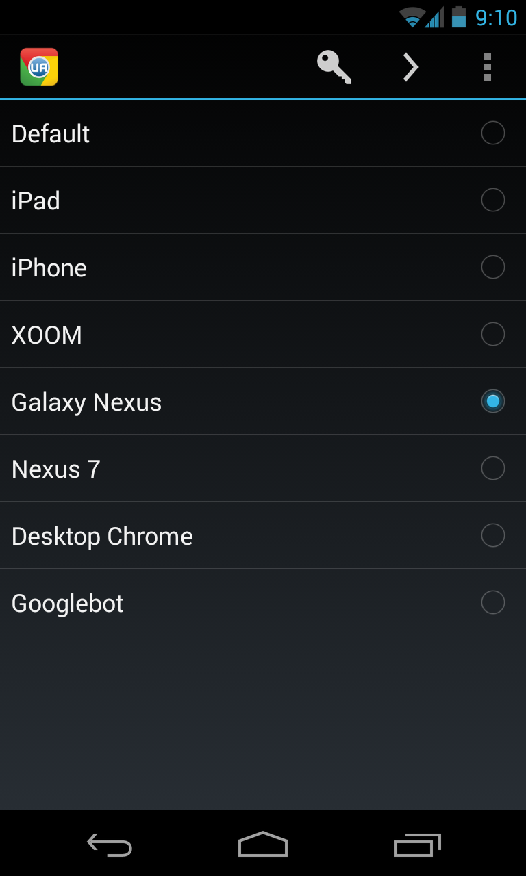Install Chrome Download & Install Chrome UA Switcher di Playstore ...